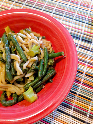 2/105 - Ginger Sesame Noodles from Quick Fix Vegetarian by Robin Robertson