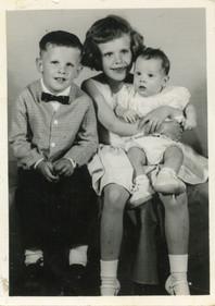 Jan, James and Kimberly April 13, 1963