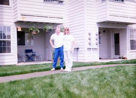 Jan and Dad June 1990 Beaverton Oregon