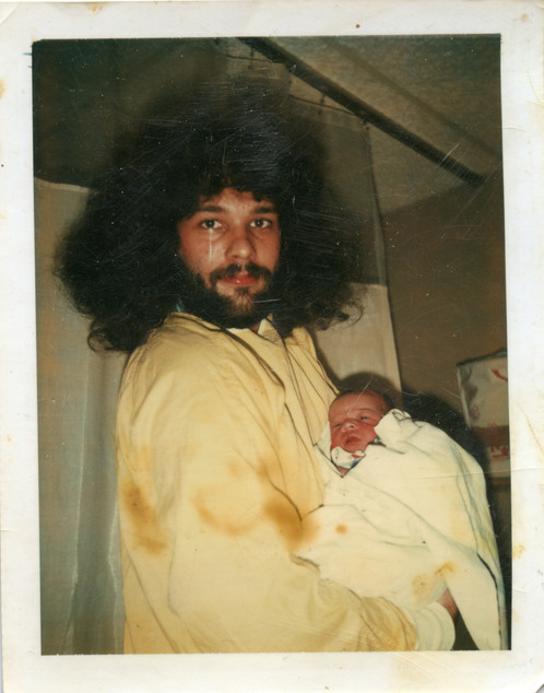 Dwayne and Paul (4 hours old) 1-5-78