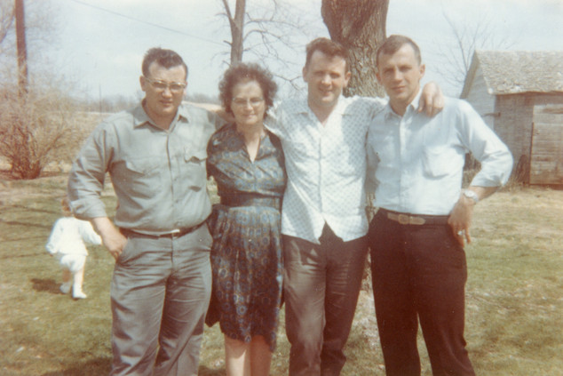 Bob, Rosine, Jack, Larry Garoutte