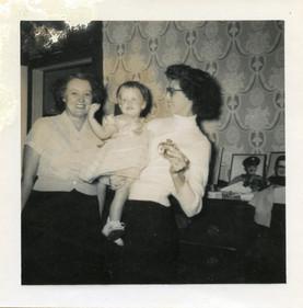 Hazel and Winn and Jan Dec 25 57