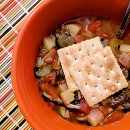 Manhattan Glam Chowder from Appetite for Reduction by Isa Chandra Moskowitz