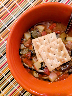 4/105 - Manhattan Glam Chowder from Appetite for Reduction by Isa Chandra Moskowitz