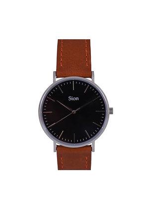 Silver - Black dial