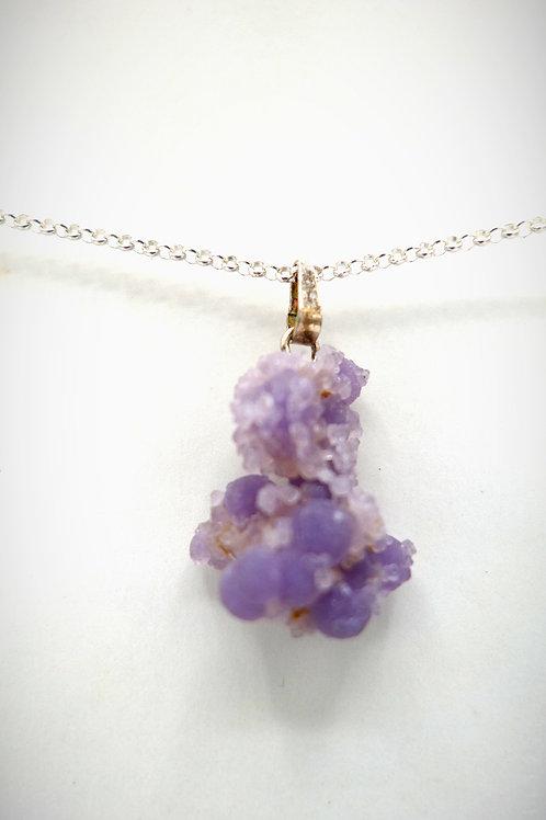 Calcédoine violette