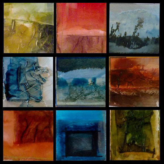 Fragments de cartes postales