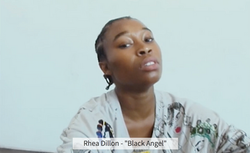 "Rhea Dillon - ""Black Angel"""