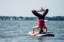 Handstand+SUP+Yoga+Portland+Paddle+Maine