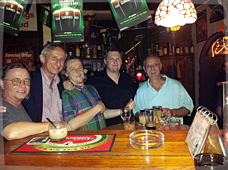Randy, Don, Herbert, Berni & Dennis