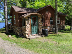 Birch Cabin Entrance