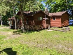 Birch Cabin from SE