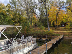 Our dock and September colors
