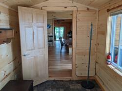 Entryway on Oak Cabin