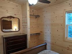 East bedroom closet area