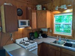 Pine Cabin Kitchen