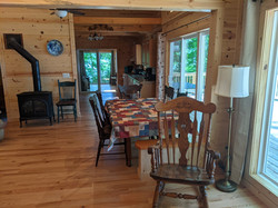 Dining area from entry door