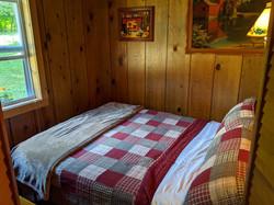 South bedroom from doorway