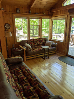 Family room from SE
