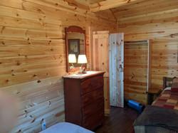 Dresser in Pine Cabin bedroom