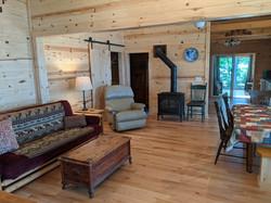 Living room from entry door