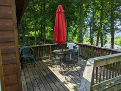 Maple Cabin Deck