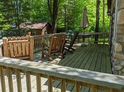 Birch Cabin Deck