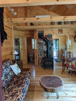 Living room from N doorway