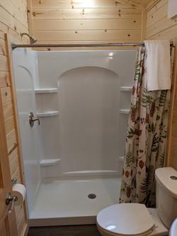 5-foot shower