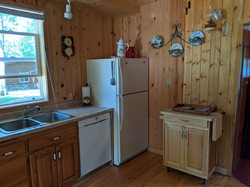 NW of kitchen