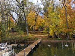 Oak Cabin from the dock