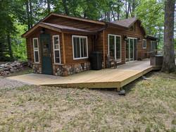 Oak Cabin form the NE