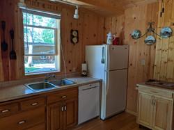 W side of kitchen