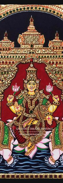 Gajalakshmi - Mandabam Style
