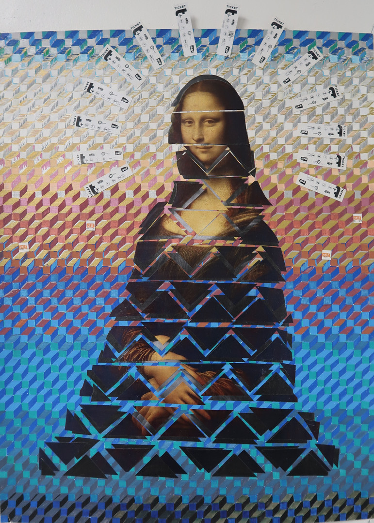 Muriel inspiration Vasarely