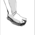 pied de Louise.