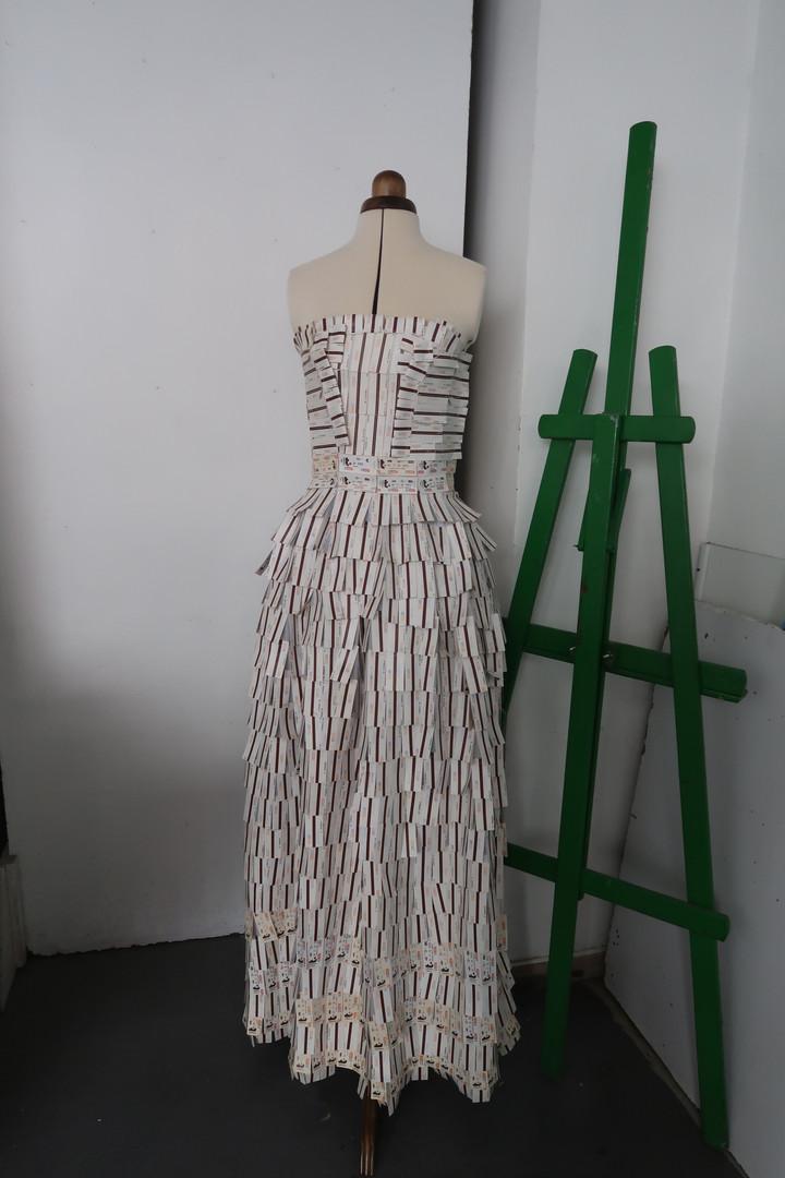 robe longue signée Noémie Ru