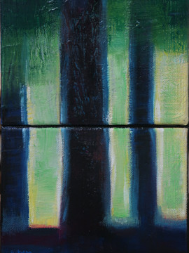 Blue trees - 13_18 X 2 - 40€
