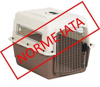 Cage transport avion  norme IATA.jpg