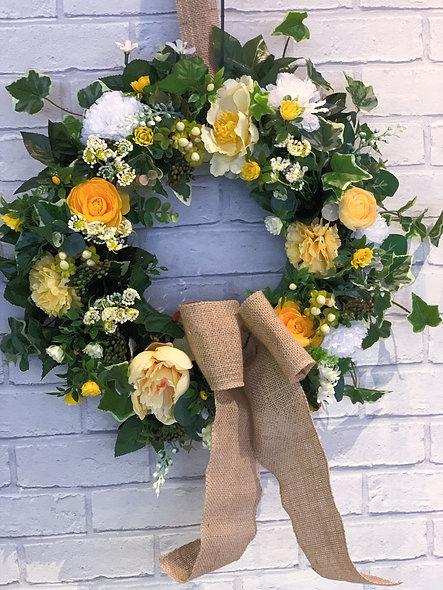 Valerie Artificial Door Wreath