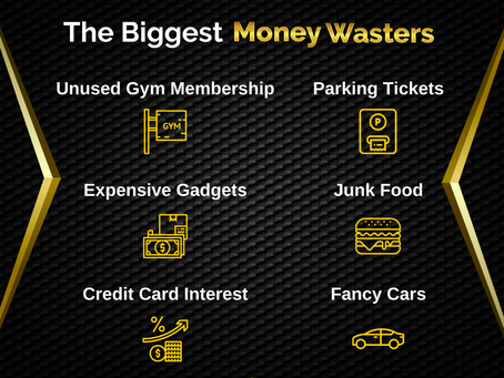 The Biggest Money Wasters   Business Tip