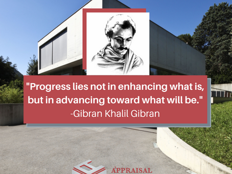 Quote of the day by Gibran Khalil Gibran.