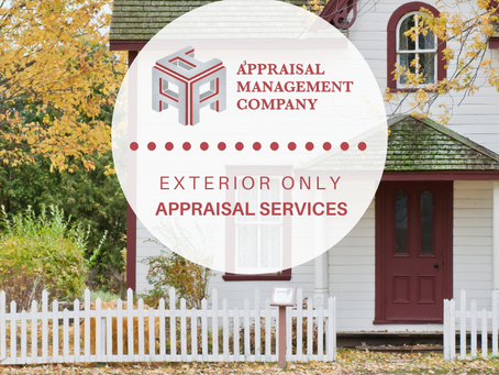 Exterior Only appraisal.