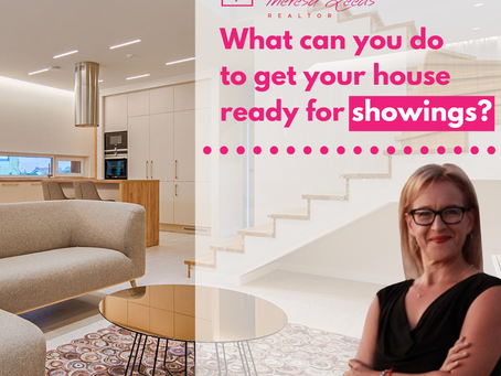 What can you do to get your house ready for showings?
