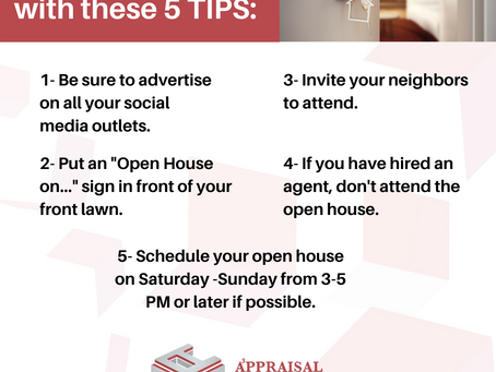 Host a successful OPEN HOUSE with these 5 TIPS!