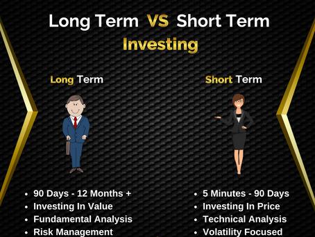 Long Term Vs Short Term Investing. | Business Tips