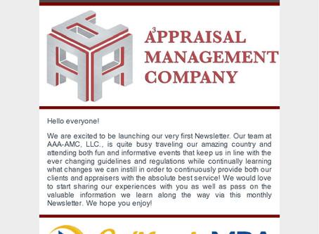 AAA-AMC, LLC's First Newsletter!