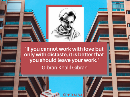 Quote by Gibran Khalil Gibran to live by!