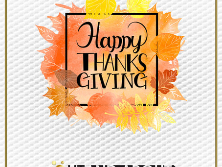 Happy Thanksgiving from Out And About Business Solutions!