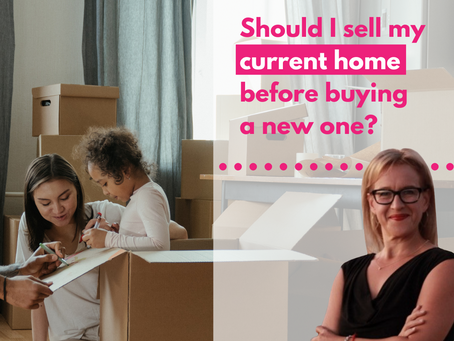 Should you sell you current home before buying a new one?